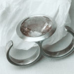 Doppelring: Silber, Rutilquarz, Weiten 56/59 --- 394,- €