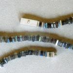 Kette: Silber, Labradorite, Länge 45 cm --- 476,- €