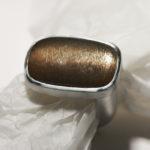 Ring: Silber, Sonnenstein, Weite ca. 54 --- 186,- €